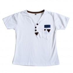 Camiseta, Diseño Doderno, Manga Corta, Cuello en V