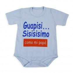 "BODIES PERSONALIZADOS ""Guapisisisisisimo como mi papá"""