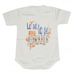 "BODIES PERSONALIZADOS ""Lose, Lose soy Adorable"""